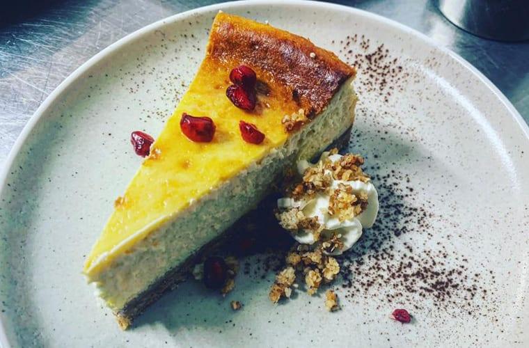 restaurant saege backstube cheesecake