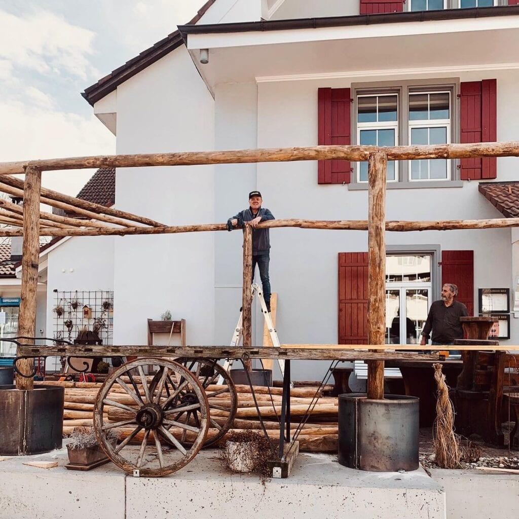 Restaurant Säge - Umbau